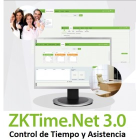 ZKTime.NET 3.0 Licencia Enterprise